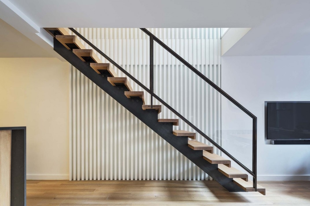 Spiral Staircase Alternatives For Your Nyc Duplex Renovation | Continuous Handrail Winder Stair | Recessed | 30 Inch | Basement | Gooseneck | 90 Degree