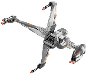 Lego 6208 Star Wars B Wing Fighter Lego 6208 B Wing Fighter   Alternate View 1