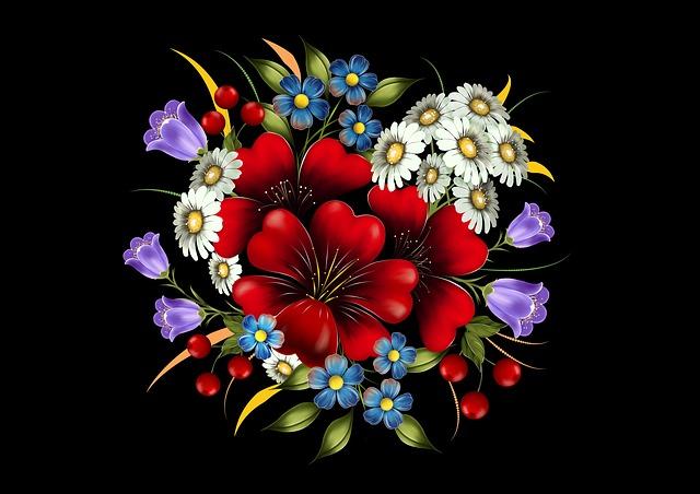 Comment composer un bouquet de fleurs?
