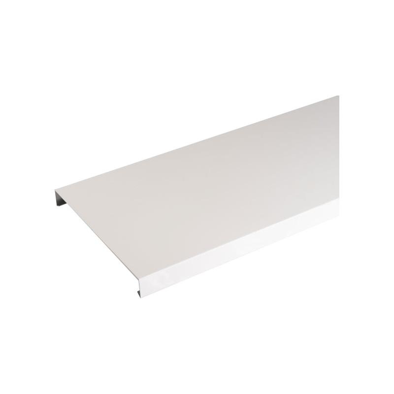 Couvertine Aluminium 1mm Blanc 2m Brico Toiture