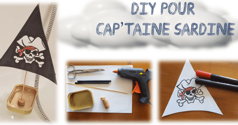 Le bateau de Capt'aine Sardine