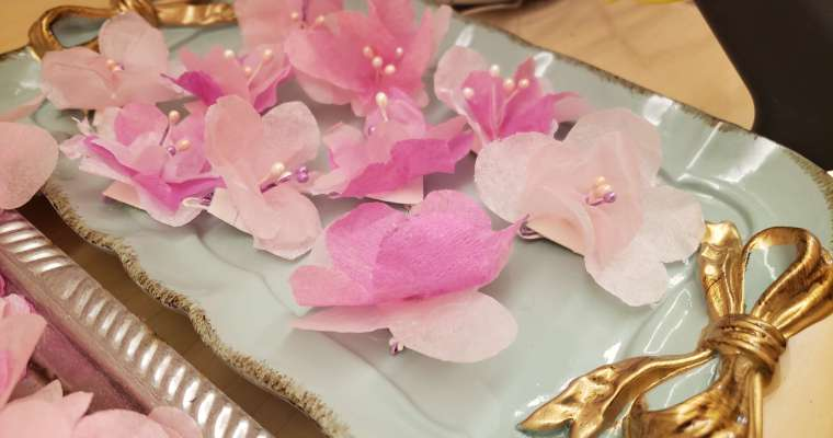 CHERRY/PEACH BLOSSOM FLOWERS FOR DECORATION (Chinese New Year)