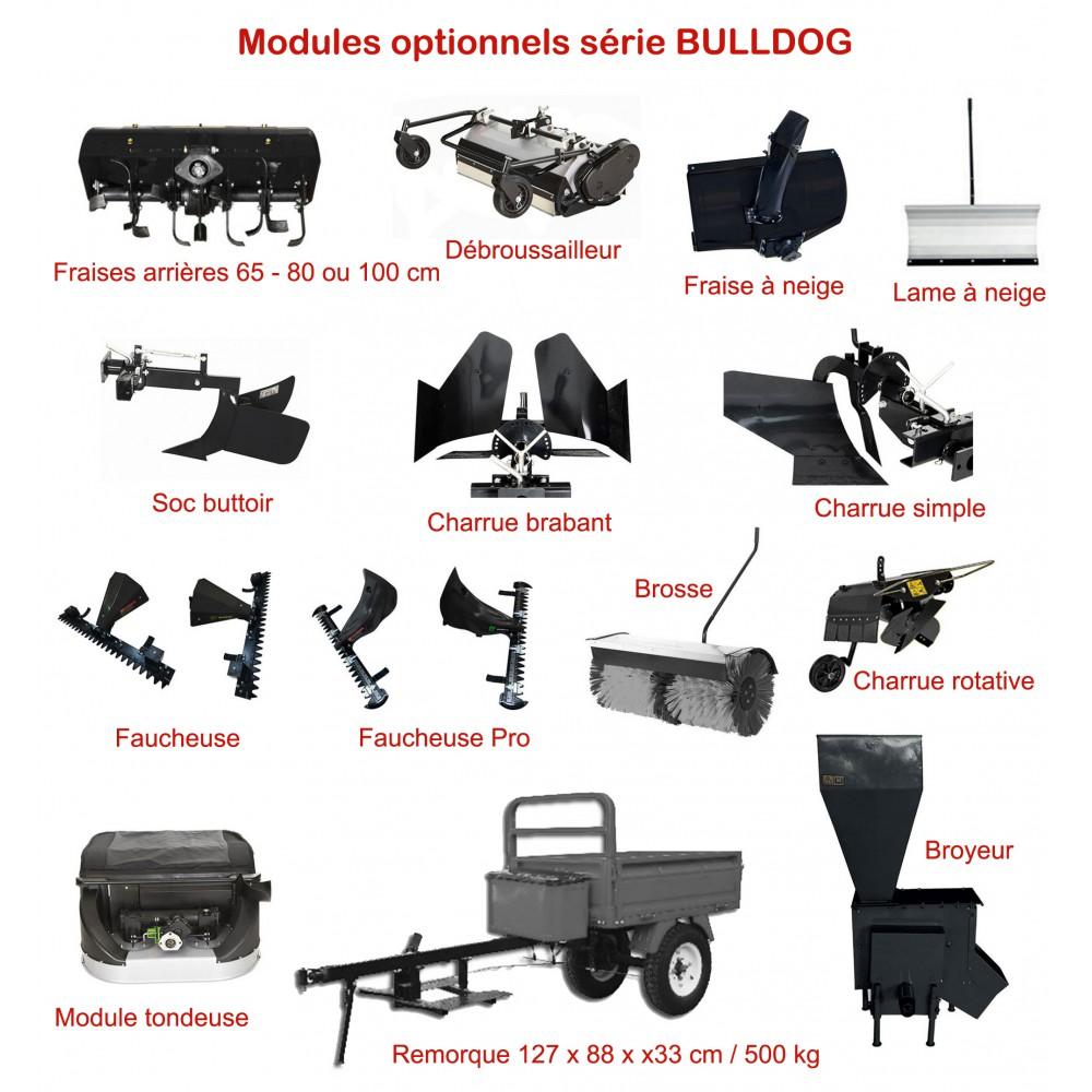 Motoculteur Bulldog Essence 13 Cv