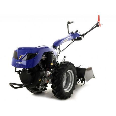 Motoculteur Professionnel Goodyear Diesel 10 Cv Avec Demarrage Electrique
