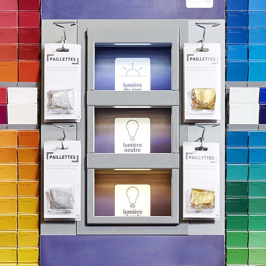 comptoir couleurs