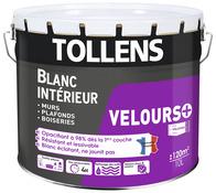 Peinture Blanche Pour Mur Plafond Blanc Mat Satine Brico Depot