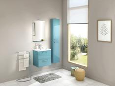 meuble salle de bain canard et bleu