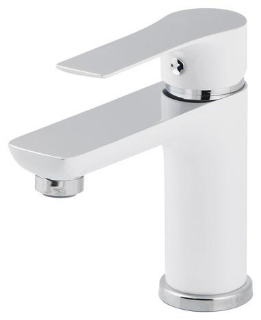 mitigeur lavabo wicie blanc goodhome