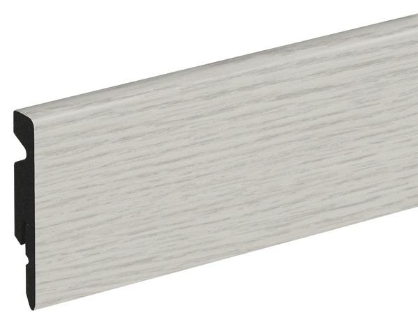 Plinthe Pvc Blanc Long 220 X Haut 6 Cm X Ep 11 Mm Brico Depot