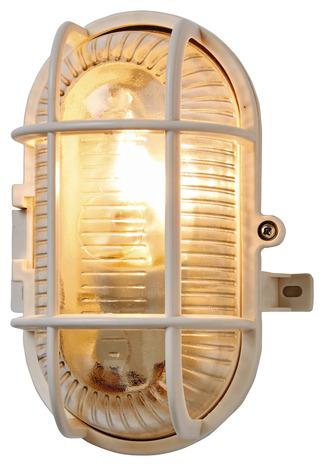 Hublot Oval Ip44 17cm Blanc 17 Cm Brico Depot