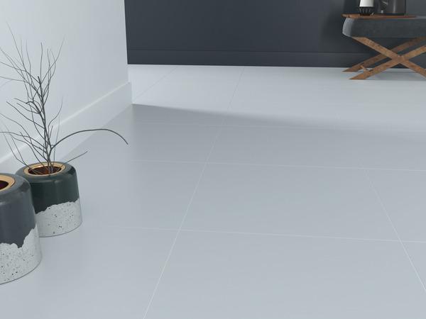 carrelage sol interieur gris clair plain l 45 x l 45 cm