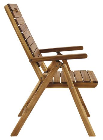 fauteuil de jardin inclinable pliable denia blooma