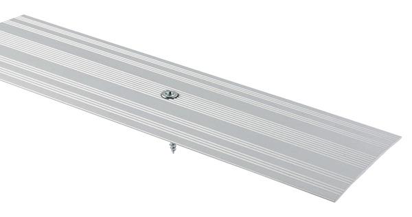 Barre De Seuil Large Aluminium Mat Long 1800 X Larg 60 Mm Brico Depot