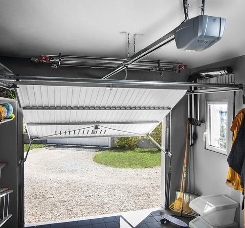 Motorisation Pour Porte De Garage Sectionnelle Brico Depot