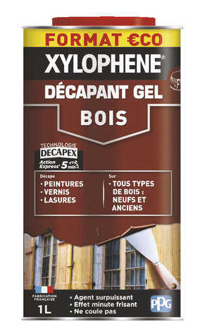 Xylophene Decapant Gel Bois 1 L Brico Depot