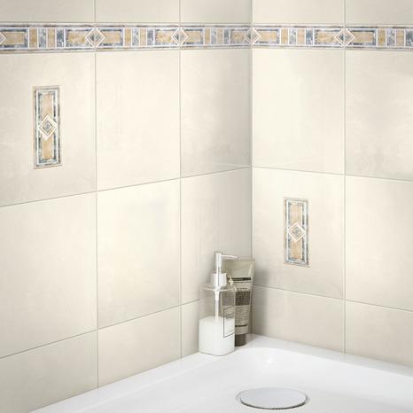 faience murale aspect marbre beige
