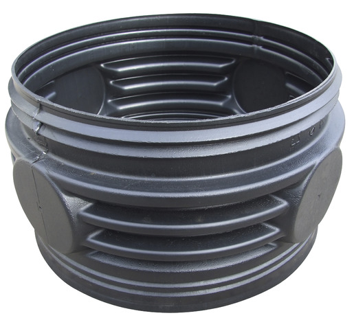 Rehausse Cylindrique Universelle A Visser En Pvc O 32 Cm H 10 Cm Brico Depot