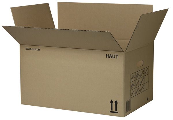 Carton De Demenagement 36 L L 40 X P 30 X H 30 Cm Brico Depot