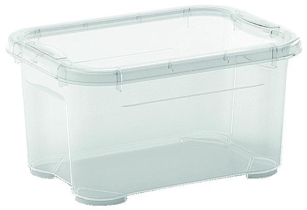 Bac De Rangement Transparent 5 L 26x19x14 Cm Brico Dpt