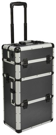 Coffre De Rangement Mobile 3 Compartiments Aluminium Brico Depot