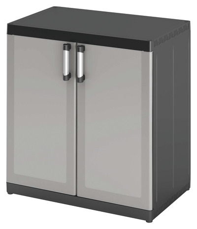 armoire basse xl resine h 93 x l 89 x p 54 cm form