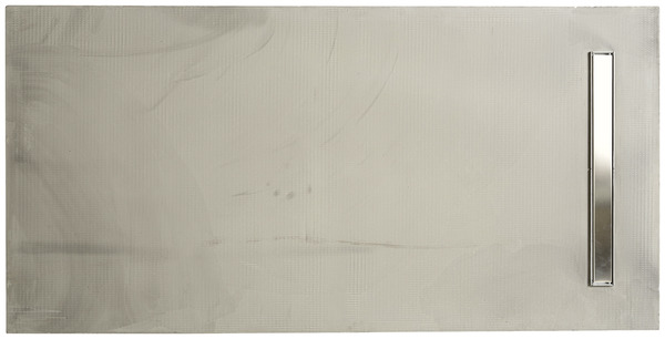 carreler rectangulaire 180 x 90 cm gris