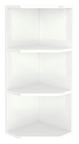 rangement mural d angle blanc imandra