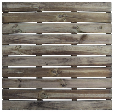 dalle en bois 100 x 100 cm blooma