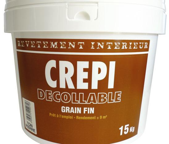 Crepi Acrylique Grain Fin Pour Interieur Brico Depot