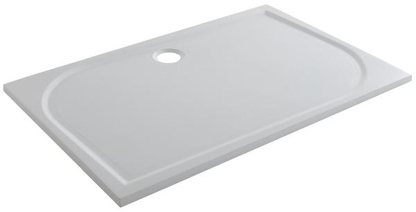 receveur de douche rectangulaire extraplat 120 x 90 cm en resine goodhome