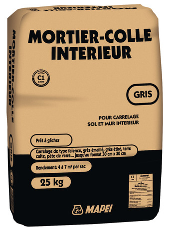 Mortier Colle Gris Pour Carrelage 25 Kg Brico Depot