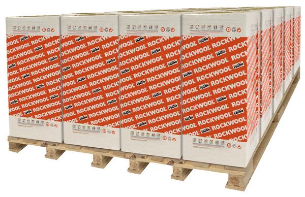 Panneau De Laine De Roche Revetu Kraft Ep 40 Mm Rockcalm Brico Depot