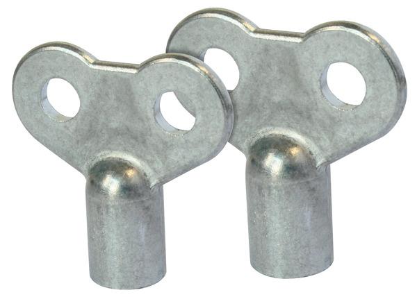 2 Cles Pour Purgeur D Air Sur Radiateur A Carre 4 Et 5 Brico Depot