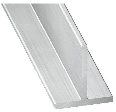 Te En Aluminium Brut L 1 M L 15 Mm H 15 Mm Ep 1 5