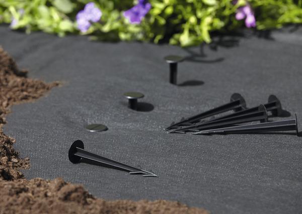 Rouleau Anti Mauvaise Herbe Noir L 10 M X L 1 M Brico Depot