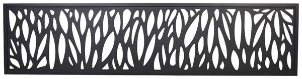 panneau decoratif motif feuille neva l 1 79 m x l 44 cm x ep 21 mm blooma