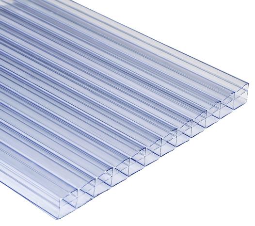 plaque polycarbonate transparente 4 x