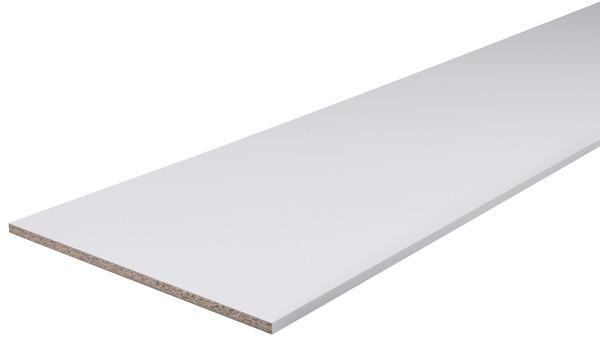 Tablette Melaminee Blanche 2 M L 30 Cm X Ep 1 6 Cm Brico Depot