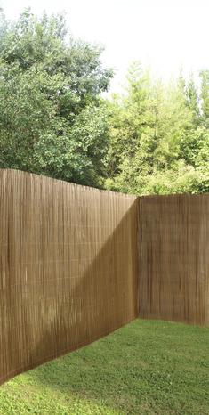 canisse naturelle en bambou h 1 x l 3