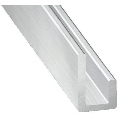 Cimaise En Aluminium Brut L 2 M 20x10x10 Mm Ep 1 5 Mm Brico Depot