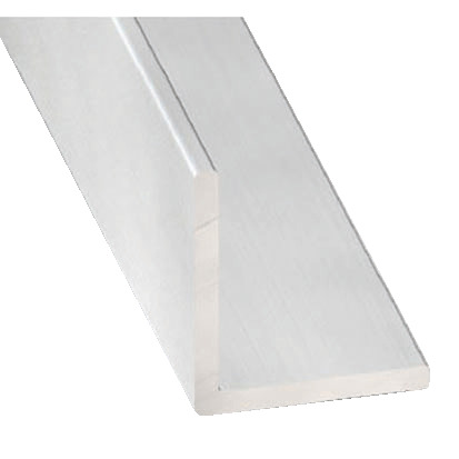 Corniere En Aluminium Anodise Incolore L 2 50 M L 10 Mm H 10 Mm Ep