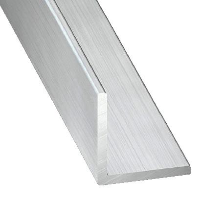 Corniere En Aluminium Brut L 2 50 M L 25 Mm H 25 Mm Ep 1