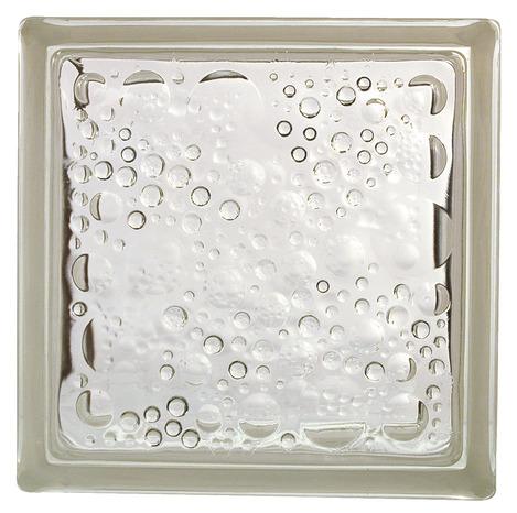 brique de verre nuage blanc l 19 x l