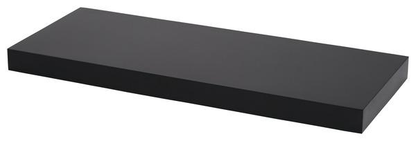 tablette noire l 60 cm x p 23 5 cm