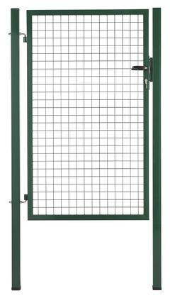 Portillon De Jardin Grillage Vert L 1 X H 1 5 M Brico Depot
