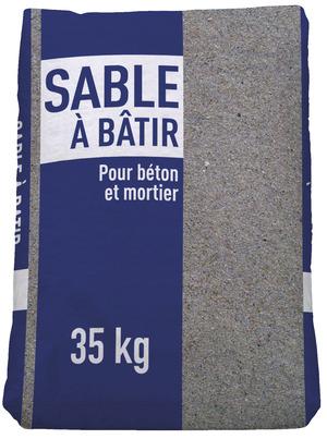 Sable A Batir Pour Les Travaux De Maconnerie Granulo 0 4 Mm En Sac De 35 Kg Brico Depot