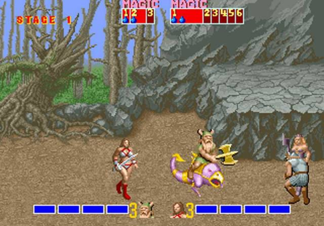 Pura nostalgia en 16bits en esta mítica recreativa arcade