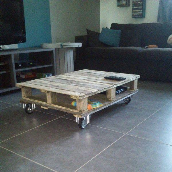 meubles en palettes quelques idees