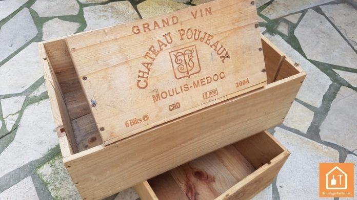 ou trouver des caisses de vin en bois