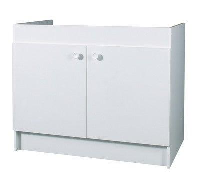 meuble sous evier bas 100 2 portes